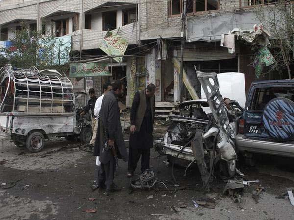 Twins bomb blast in Baghdad