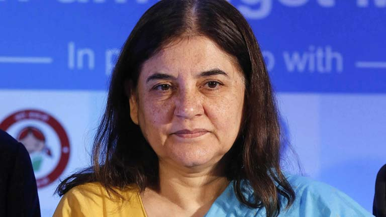 Union Cabinet Minister for Women and Child Development Maneka Gandhi
