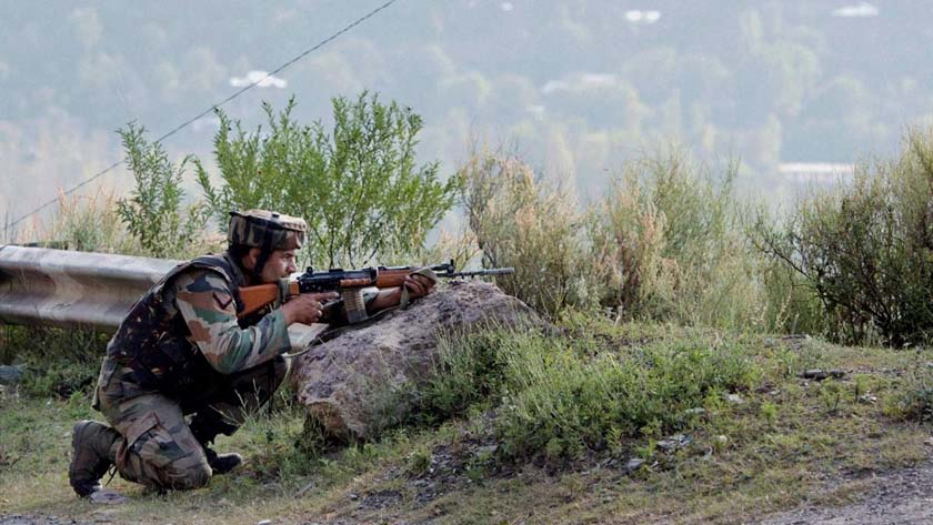 One jawan killed in firing
