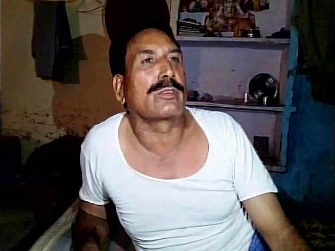 Ishwari Prasad, accused Police Officer