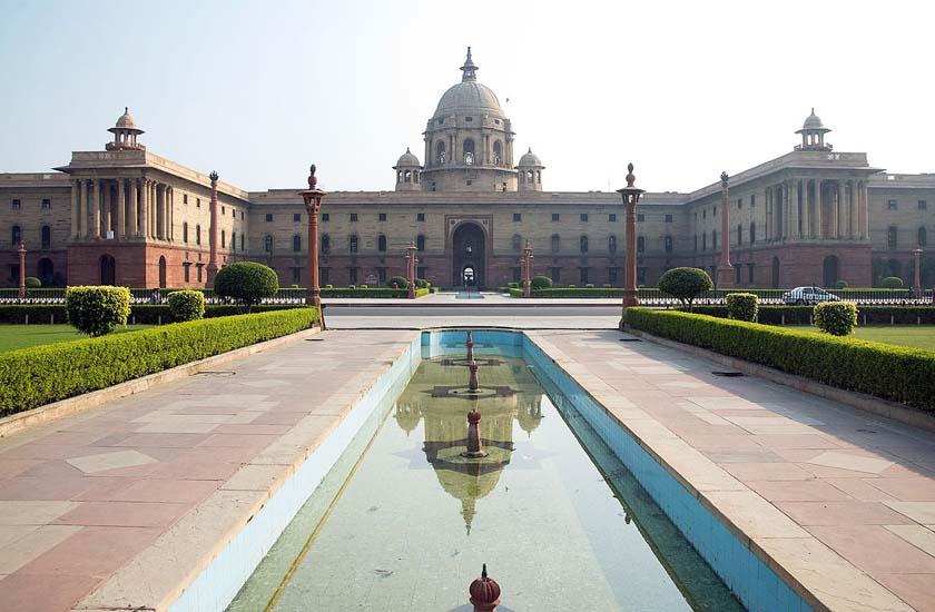 A view of Rashtrapati Bhavan (File Photo)