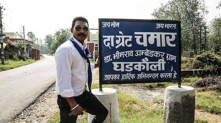 Bhim Army founder Chandrashekhar alias Rawan
