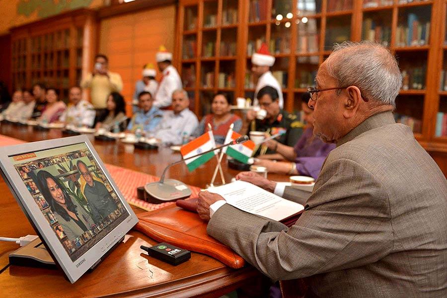 Pranab Mukherjee,  President