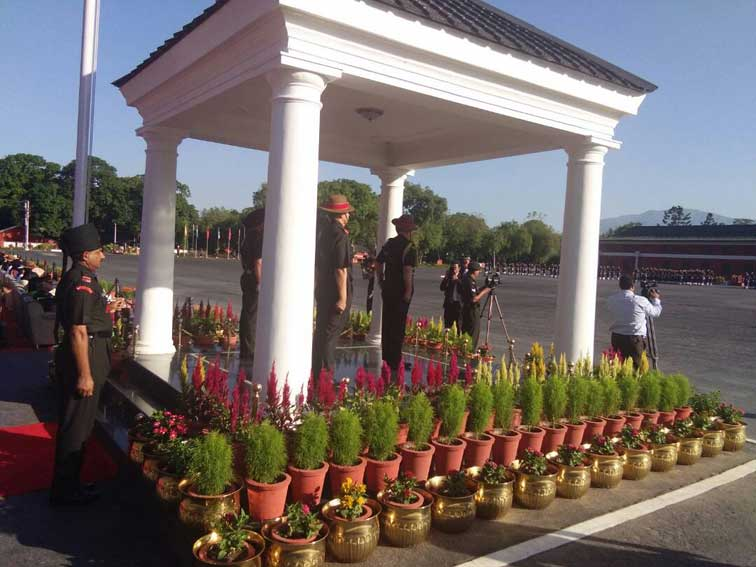 Army Chief General Bipin Rawat attends Passing Out Parade at the IMA