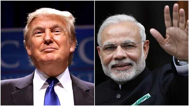 President Donald Trump & Prime Minister Modi