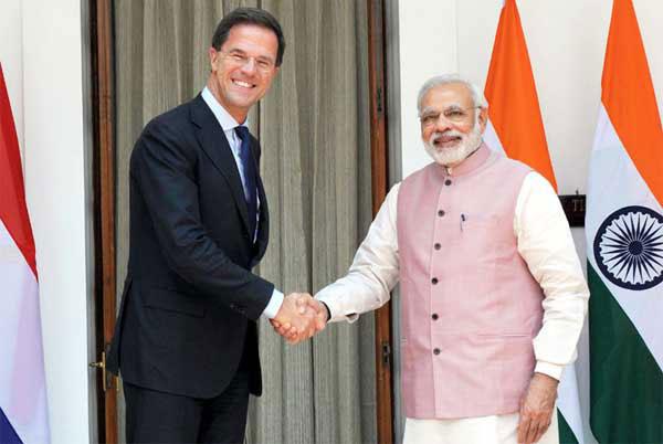 PM Modi and Dutch PM H.E. Mark Rutte