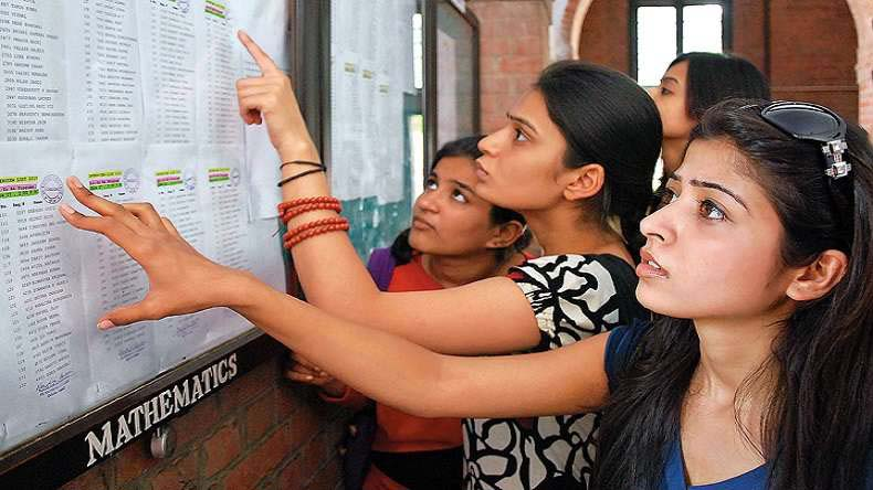 Student checking their list (File Photo)