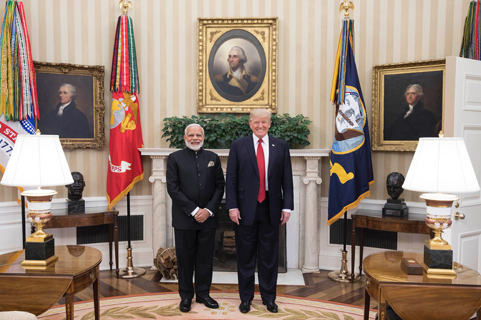 PM Modi and US President Donald Trump