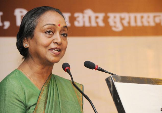 Opposition presidential candidate Meira Kumar