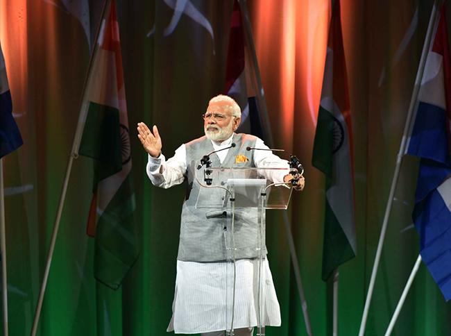 Prime Minister Narendra Modi in Netherlands