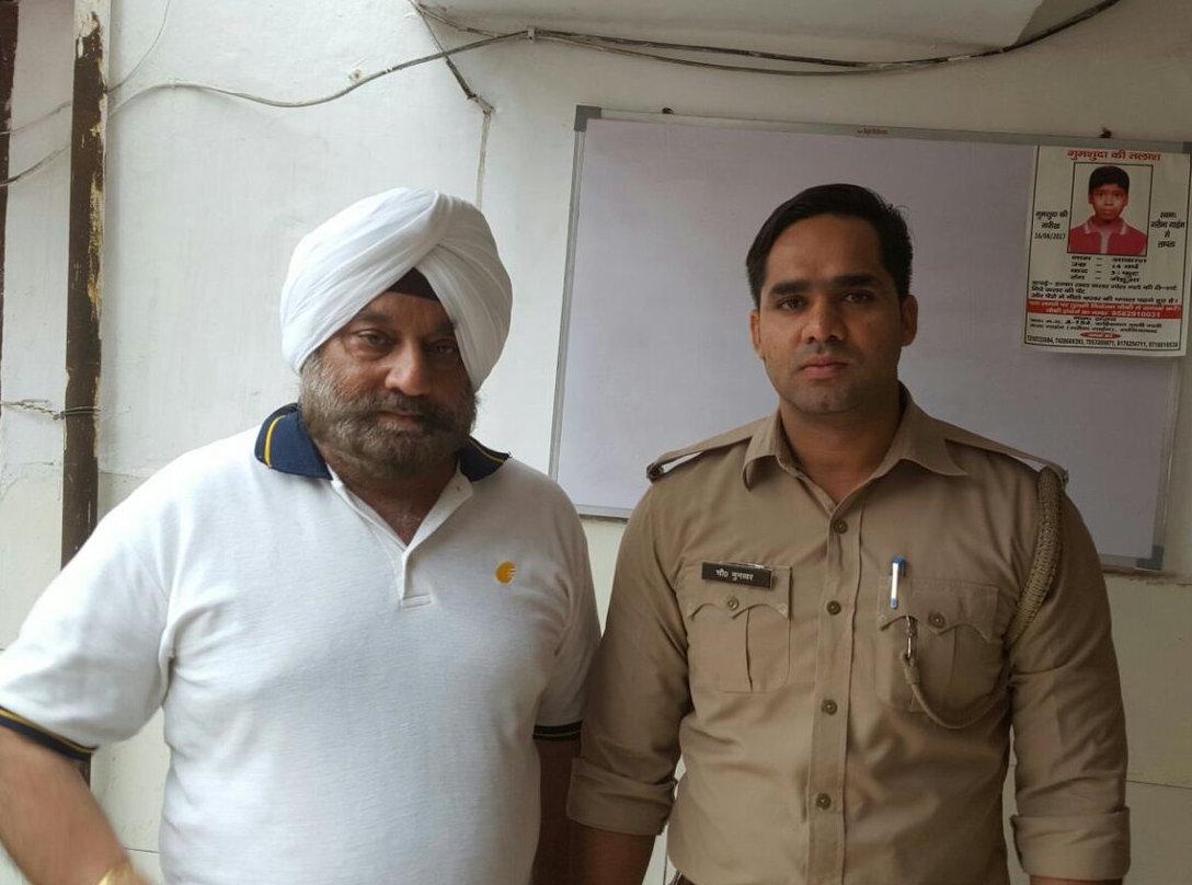 Jet Airways vice president Col. Avneet Singh Bedi
