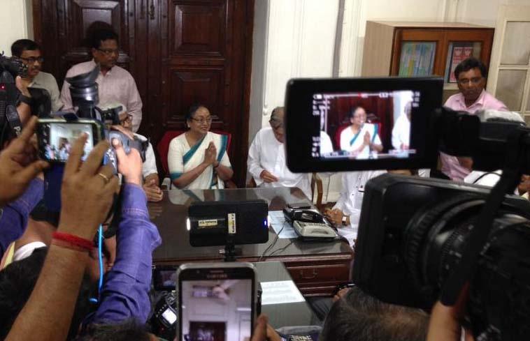 Opposition's Presidential candidate Meira Kumar