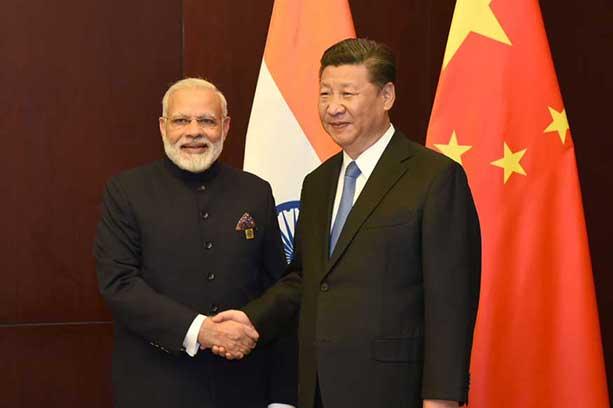 Prime Minister Narendra Modi and President Xi Jinping