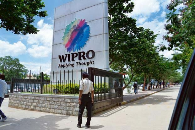 A view of WIPRO's building
