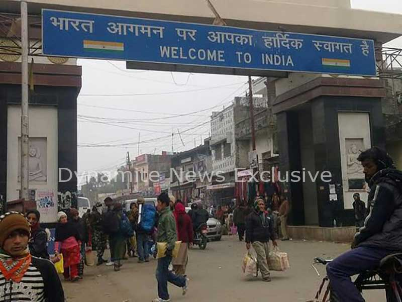 Tight security on Indo-Nepal boarder