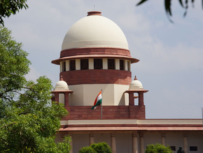 A view of Supreme Court of India
