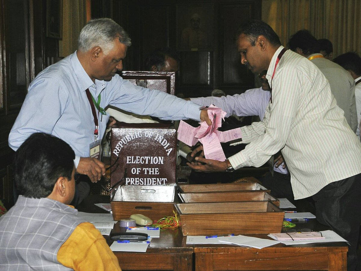 Counting of votes for Presidential election underway