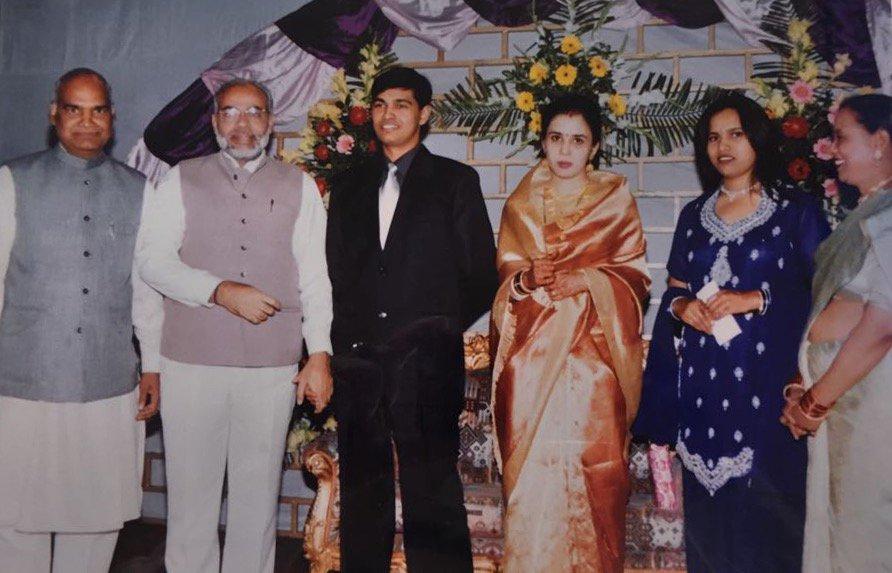 Prime Minister Narendra Modi with Ram Nath Kovind
