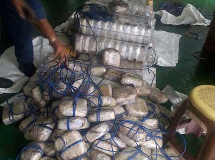 seized narcotics investigation is currently underway
