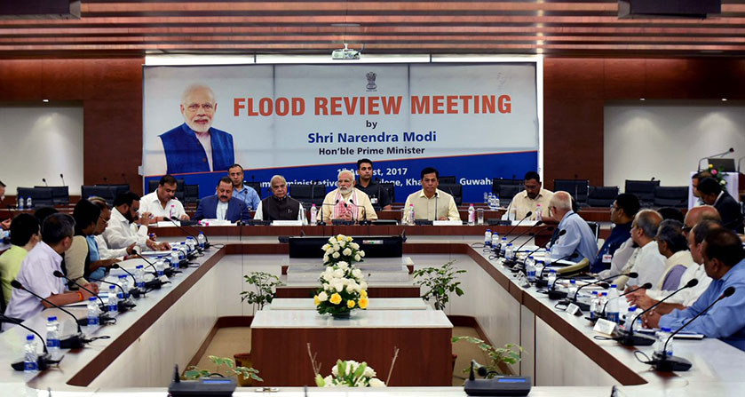 PM Modi holds meeting in Assam