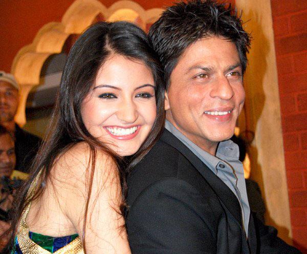 Shah Rukh Khan with Anushka Sharma