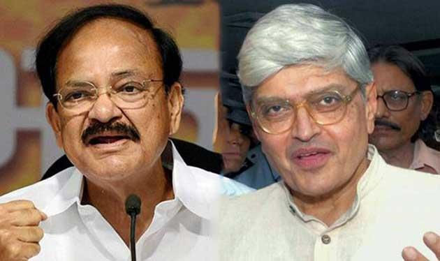 Venkaiah Naidu and Gopal Krishna Gandhi