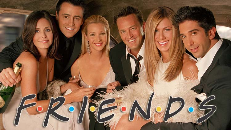 Casting of famous Hollywood series  FRIENDS