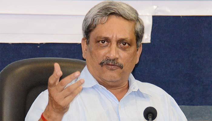 Goa Chief Minister Manohar Parrikar (File Photo)