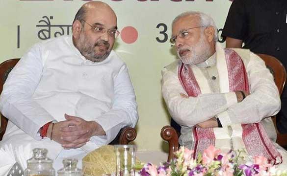 PM Modi and BJP President Amit Shah