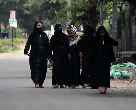 A view of Muslim ladies (File Photo)