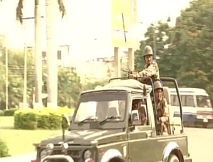 Tight security ahead of court verdict