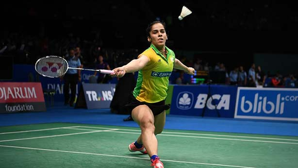 Saina Nehwal was victorious in her pre-quarters match