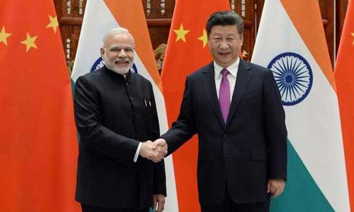 PM Narendra Modi and President of China Xi Jinping