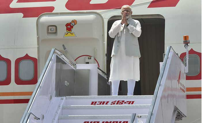 PM Narendra Modi has left for China