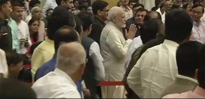 PM Modi at President House