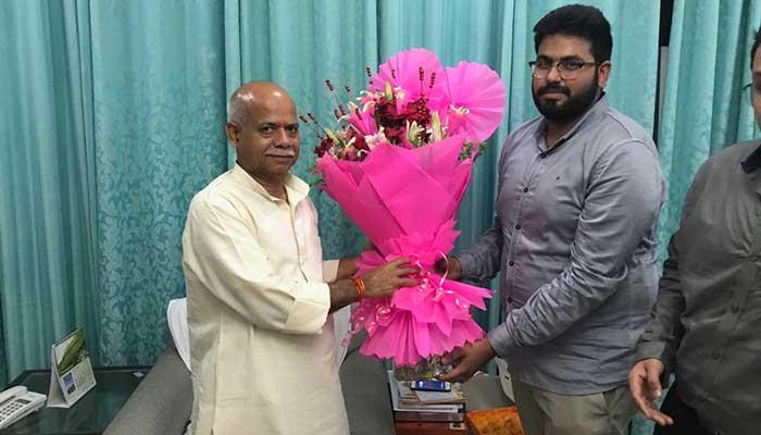 Shiv Pratap Shukla, MP from Uttar Pradesh