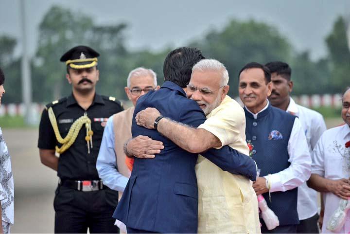 PM Modi with Japan PM Shinzo Abe