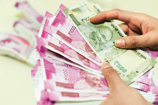 Rupee falls by 6 paise