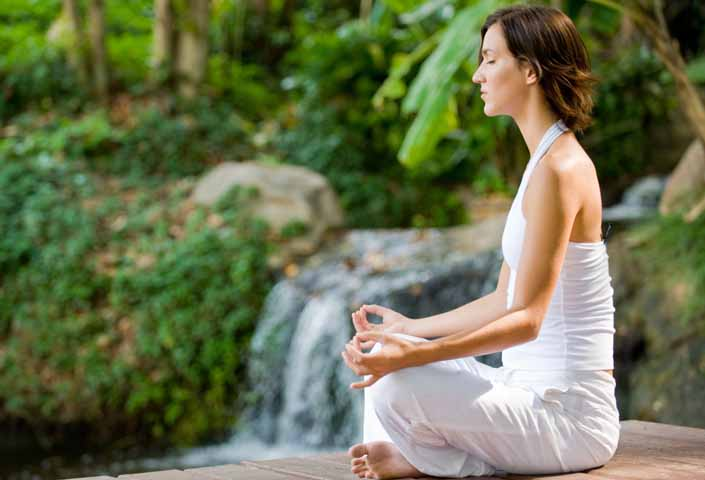 Meditation may help you to decrease anxiety (File Photo)