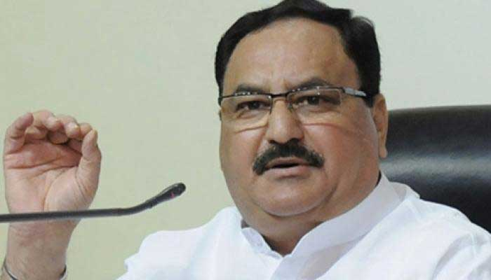 Union Health Minister J.P. Nadda (File Photo)