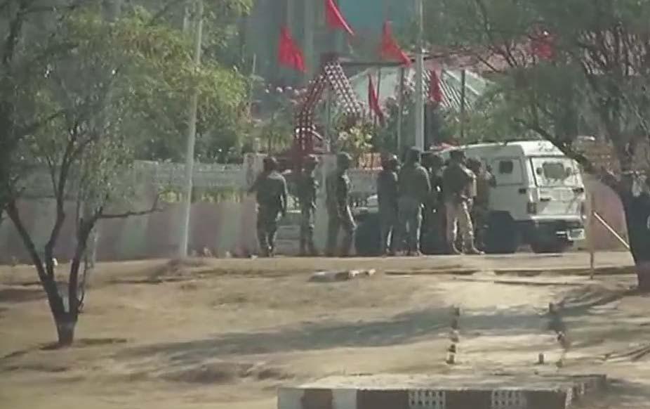 Deferred visuals of Srinagar terror attack
