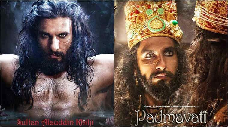 Ranveer Singh's first look as Alauddin Khilji