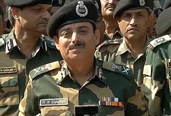 BSF Director General  K. K. Sharma