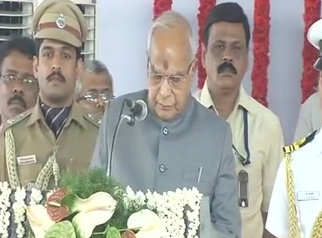Banwarilal Purohit takes oath as the Governor of Tamil Nadu