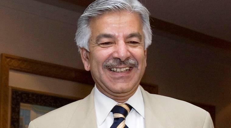 Pakistan Foreign Minister Khawaja Mohammad Asif