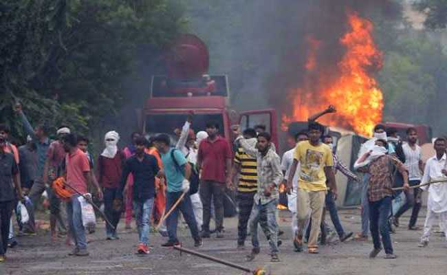August 25 violence that broke out in Panchkula
