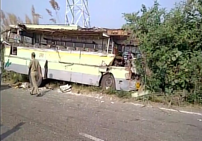 A site of the bus