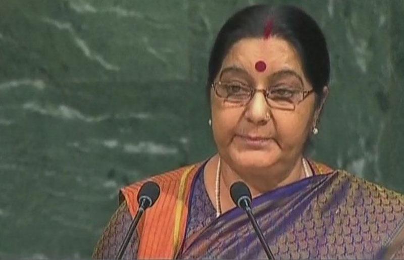 External Affairs Minister Sushma Swaraj