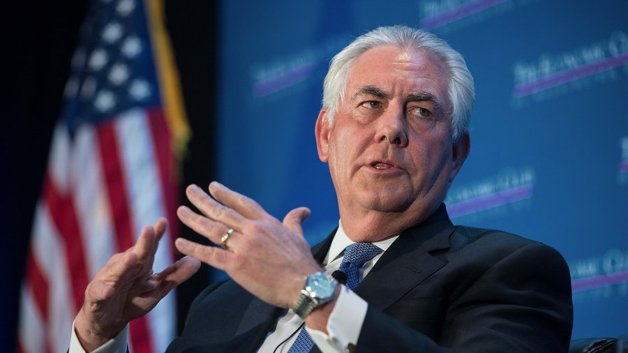 United States Secretary of State Rex Tillerson