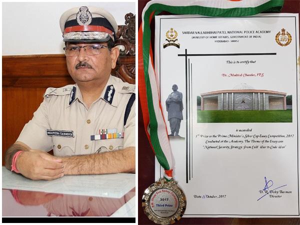 Dr. Muktesh Chandra, Director General of Police, Goa